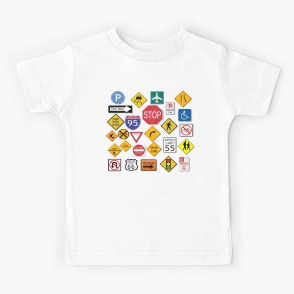 Street Signs Kids T-Shirt