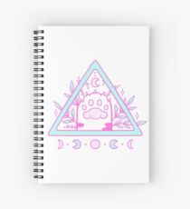 Witchy Cat Paw 02 Spiral Notebook