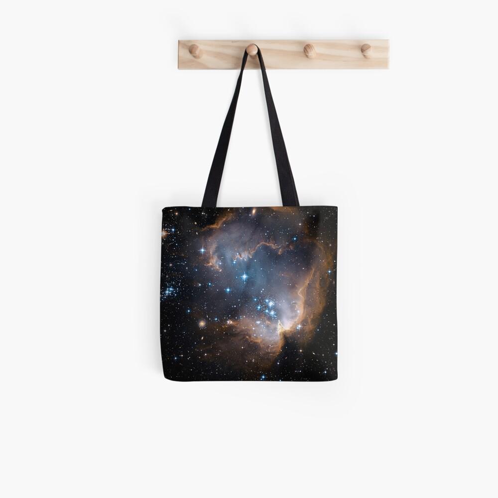 Sleeping Angel Star Cluster Tote Bag