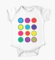 Colorful Circles One Piece - Short Sleeve