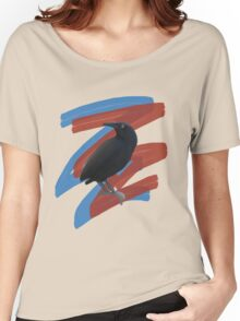 Black Bird 2 Women's Relaxed Fit T-Shirt
