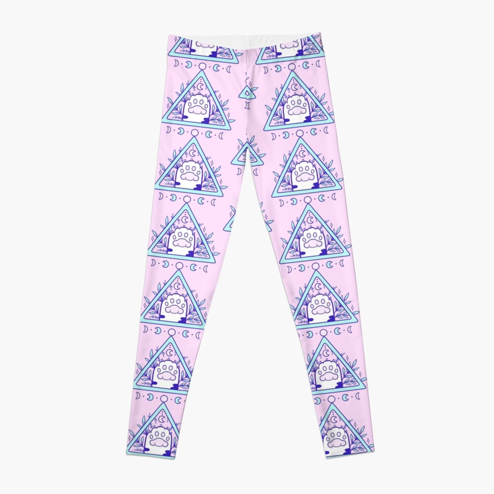 Witchy Cat Paw 03 Leggings