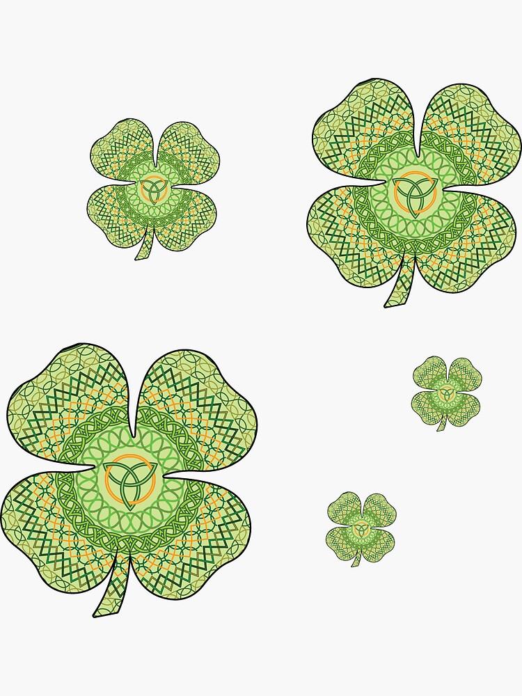 Celtic Shamrock by ValerieDesigns
