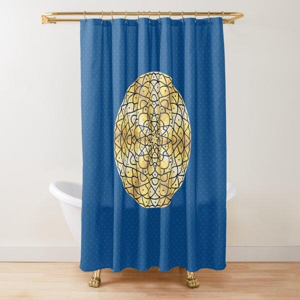 Celestial Sun Shower Curtain