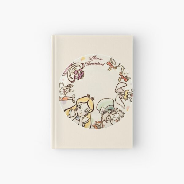 Alice and friends Hardcover Journal