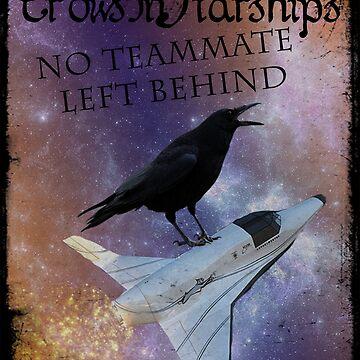 CrowsInStarships 2015 by silverfeathers
