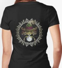 Elphaba, the Wicked Witch of the West Women's Fitted V-Neck T-Shirt