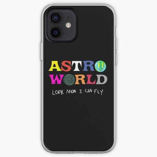 ASTROWORLD look mum I can fly  iPhone Soft Case