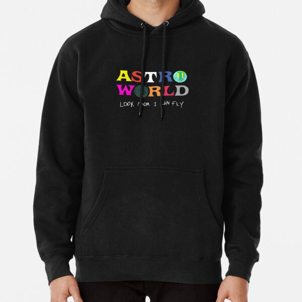 ASTROWORLD look mum I can fly  Pullover Hoodie