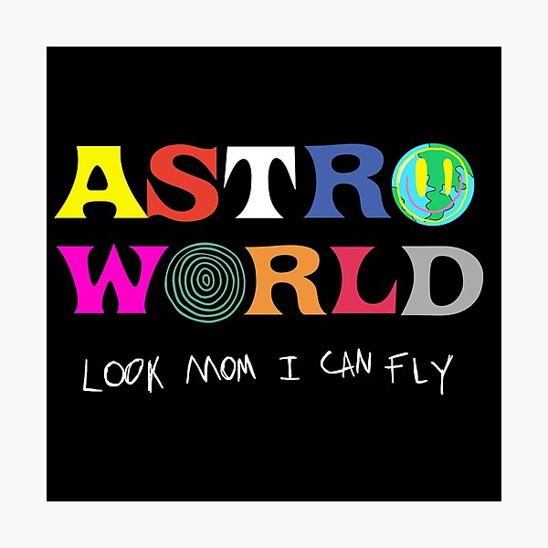 ASTROWORLD look mum I can fly  Photographic Print