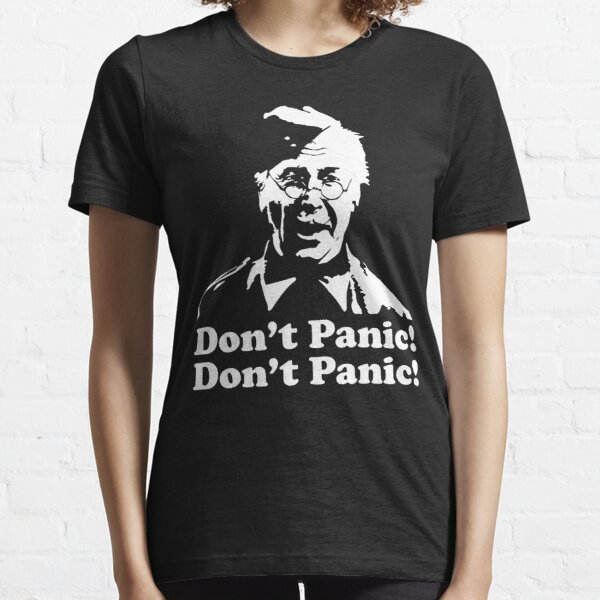 Don't Panic Lance Corporal Jones Dads Army Essential T-Shirt