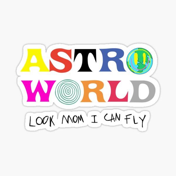 ASTROWORLD regarde maman je peux voler Sticker