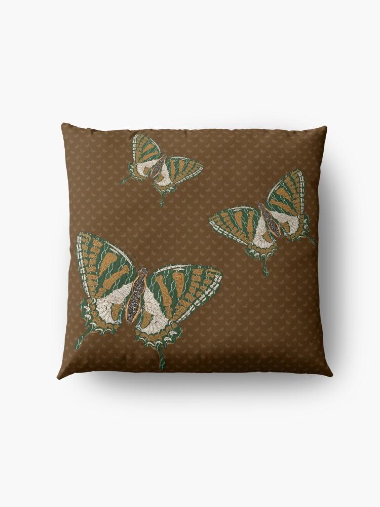 Alternate view of Aboriginal Swallowtail Floor Pillow