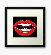 The City Speaks  Framed Print