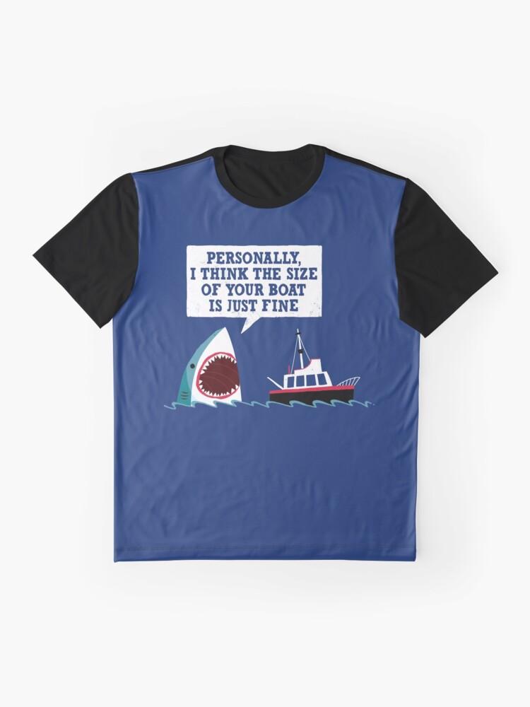 Vista alternativa de Camiseta gráfica Mandíbulas educadas
