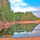Yule River - Pilbara, Western Australia by Heather Linfoot