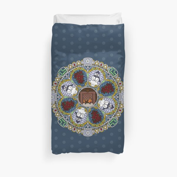 Winter Nouveau Duvet Cover