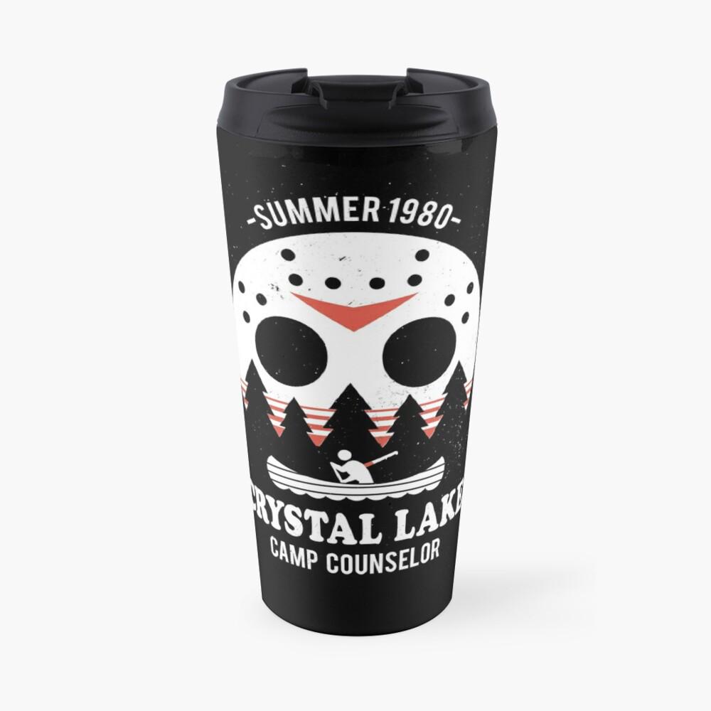 Crystal Lake Camp Counselor Travel Mug