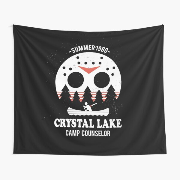 Crystal Lake Camp Counselor Tapestry