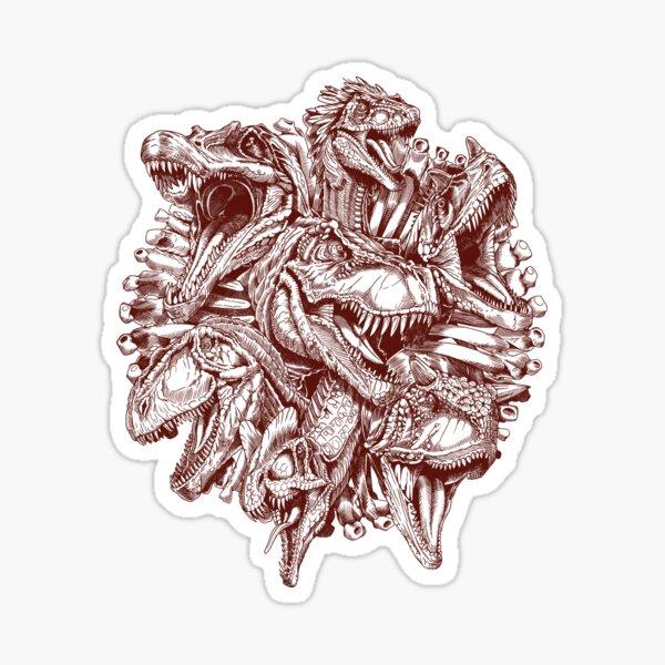 Carnivores (red) Sticker