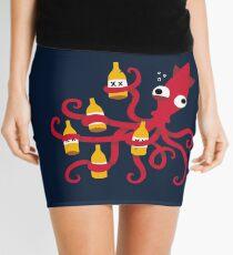 Drunk Squid Mini Skirt