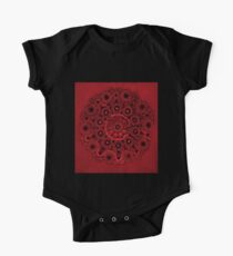 Doily Joy Mandala- Deep Roots Kids Clothes