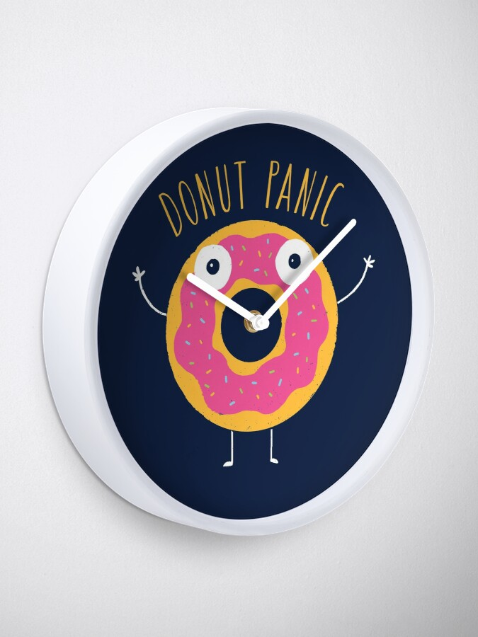 Alternate view of Donut Panic Clock