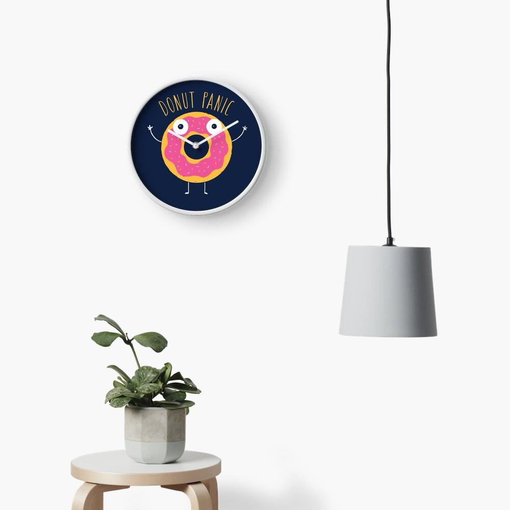 Donut Panic Clock