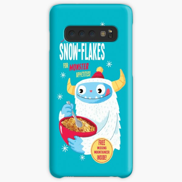 Abominable Snowflakes Samsung Galaxy Snap Case