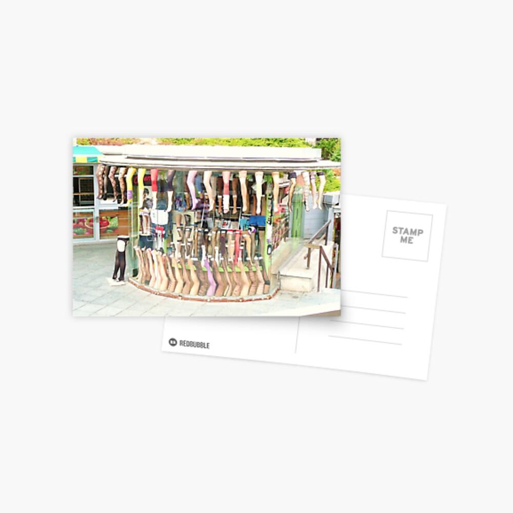hosiery Postkarte