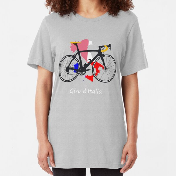 Giro D/'Italia Stripe Cycling Bike Mens Printed T-Shirt