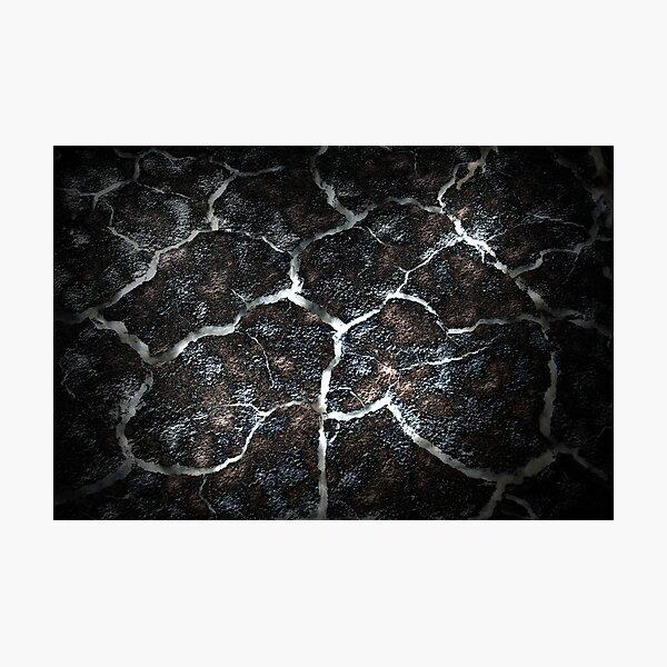 Broken Earth Photographic Print