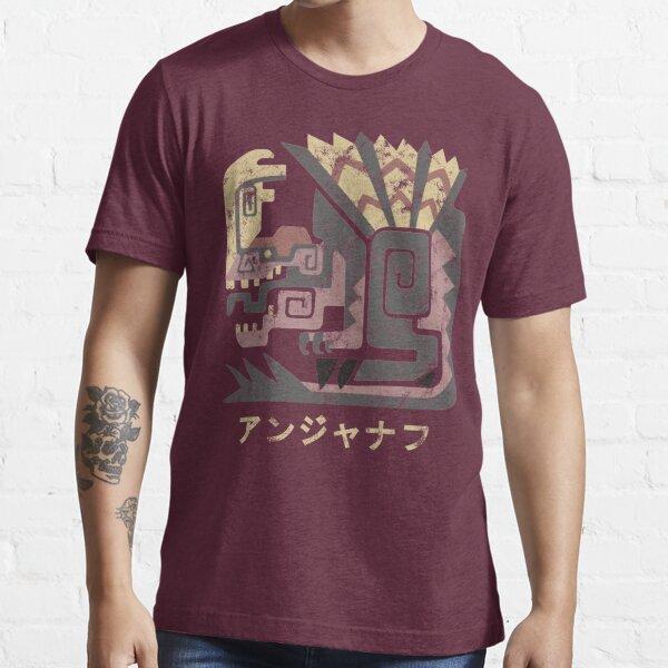 Monde de chasseur de monstres Icône Anjanath Kanji T-shirt essentiel