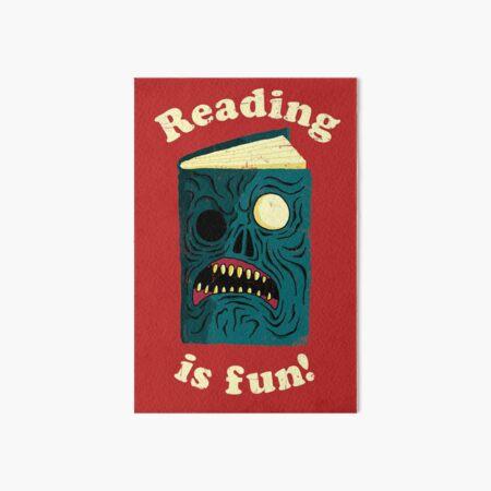 Reading is Fun Art Board Print