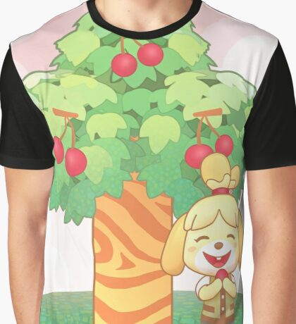 Isabelle & Cherries Graphic T-Shirt