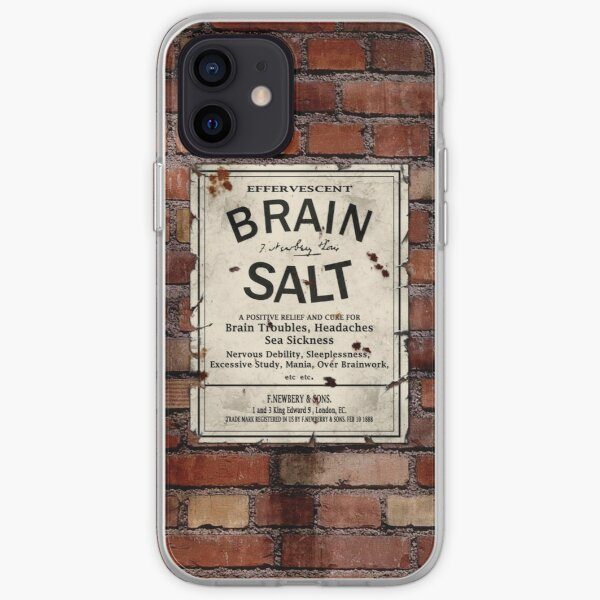Brain Salt iPhone Soft Case