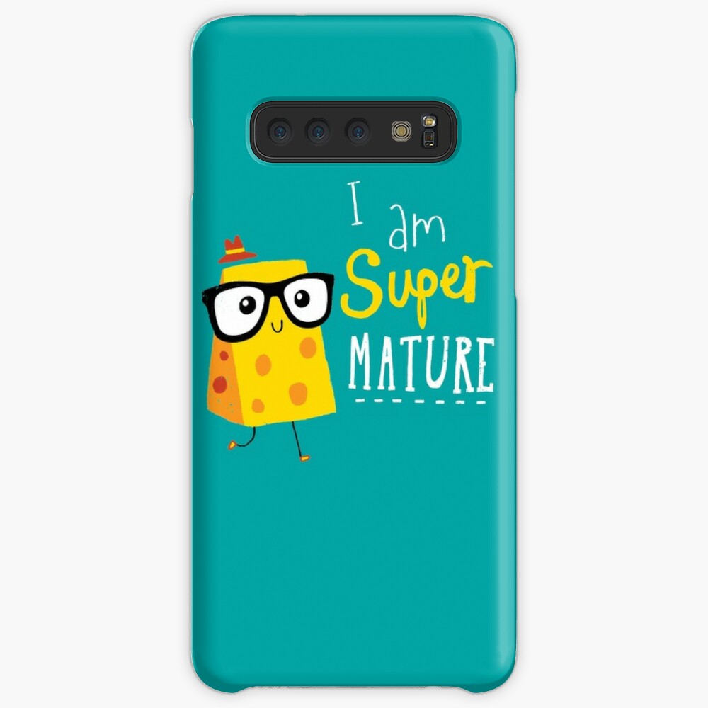 Super Mature Case & Skin for Samsung Galaxy
