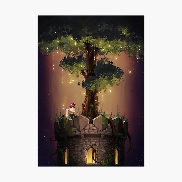 The Tree Tower Photographic Print