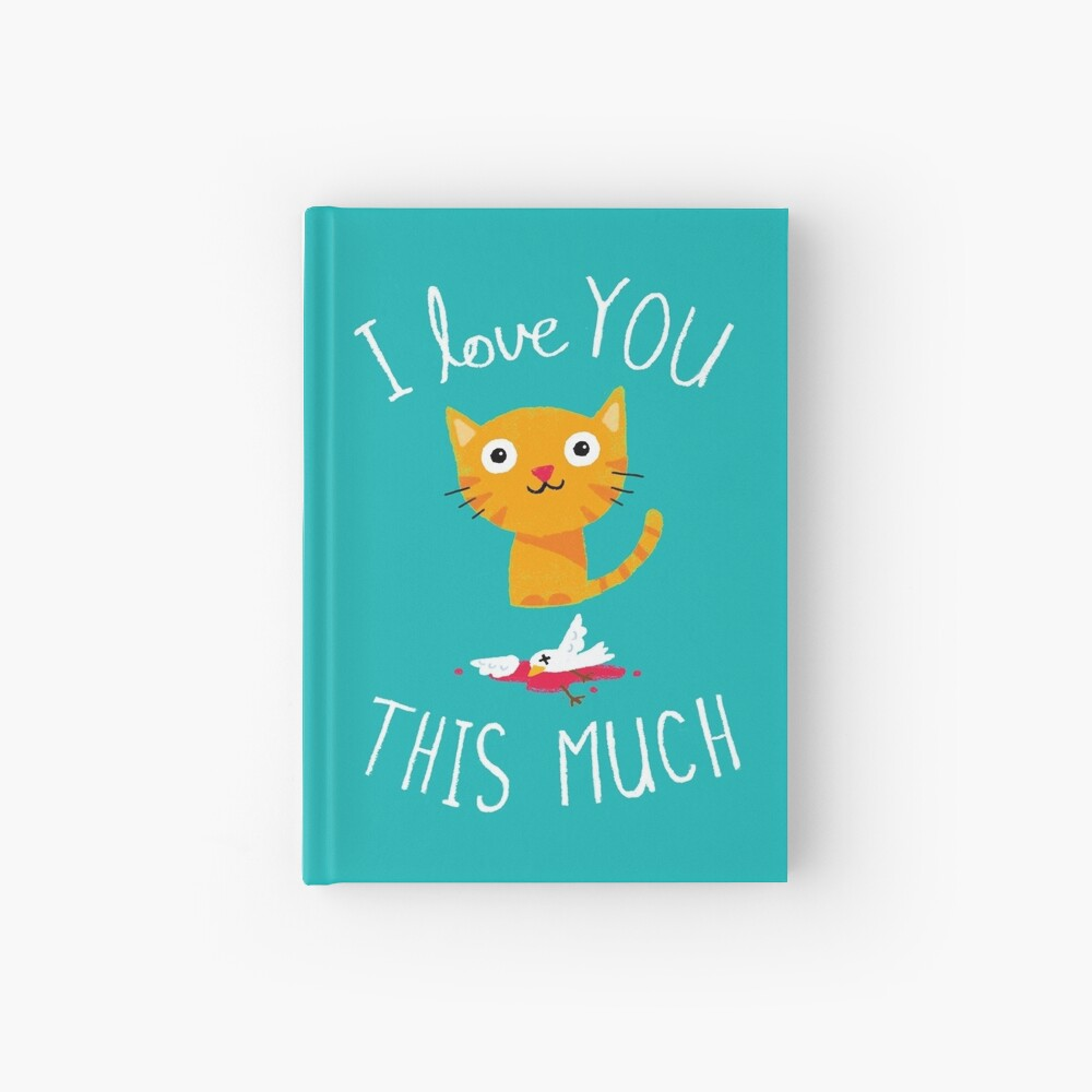 I Love You This Much Hardcover Journal