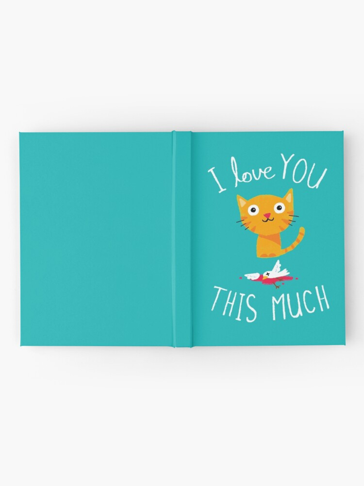 Alternate view of I Love You This Much Hardcover Journal