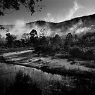 Macdonald River by Ian English