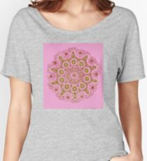 Doily Joy Mandala- Spring Bloom Women's Relaxed Fit T-Shirt