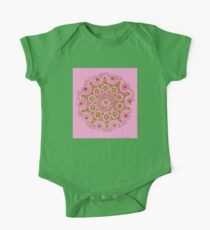 Doily Joy Mandala- Spring Bloom Kids Clothes