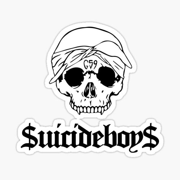 Grey59 G59 Suicideboys - black Sticker