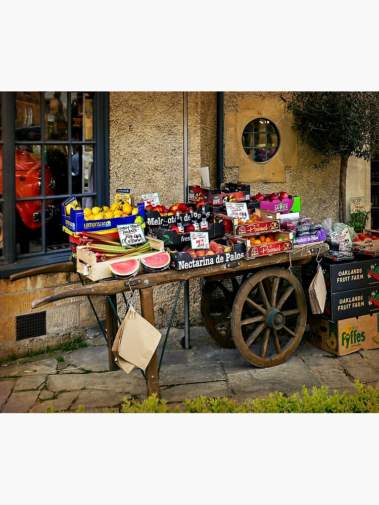 Fruit Cart by ScenicViewPics