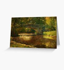 A Country Bridge Greeting Card