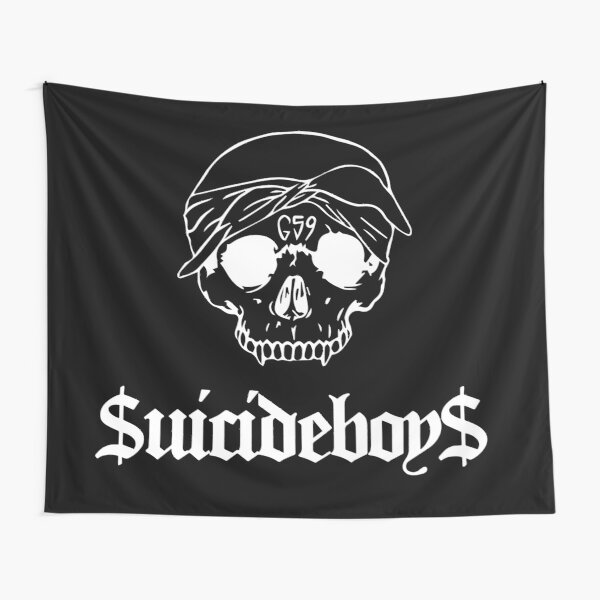 Grey59 G59 Suicideboys - white logo Tapestry