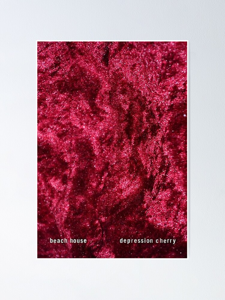 """Beach House Depression Cherry Poster -"" Poster by ..."