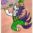 Indoor Rock Climbing Bouldering Unicorn by Mellie Test by mellierosetest
