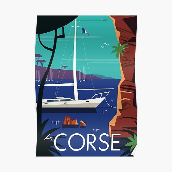Affiche La Corse Poster